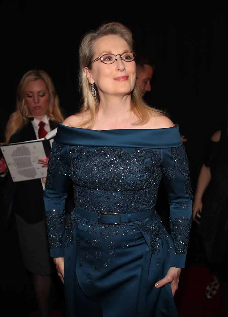 Meryl Streep alla notte degli Oscar 2017