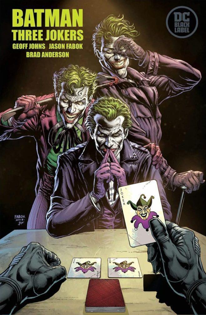 Promo art di Three Jokers