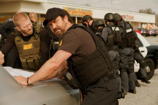 Gerard Butler in una scena del film