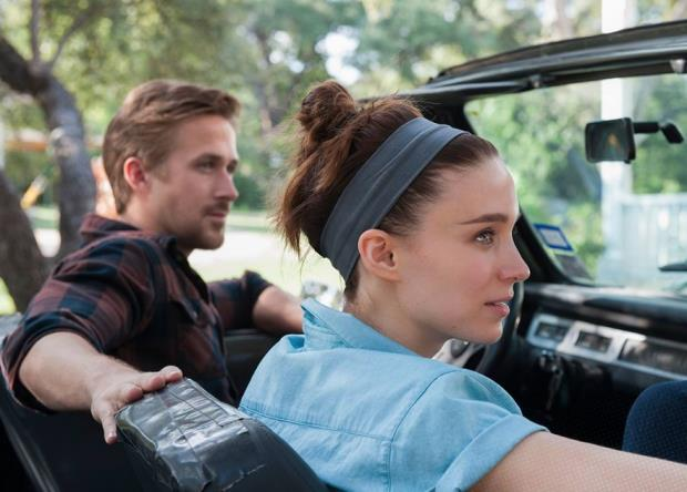 Song to Song: Ryan Gosling e Rooney Mara in macchina