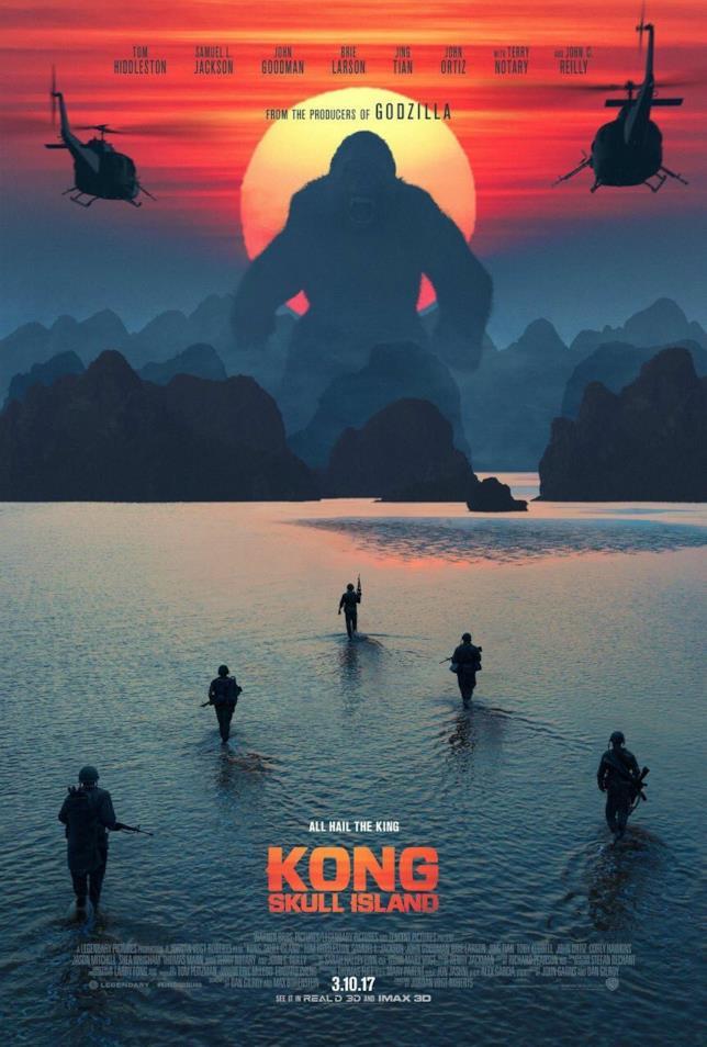 poster di Kong: Skull Island