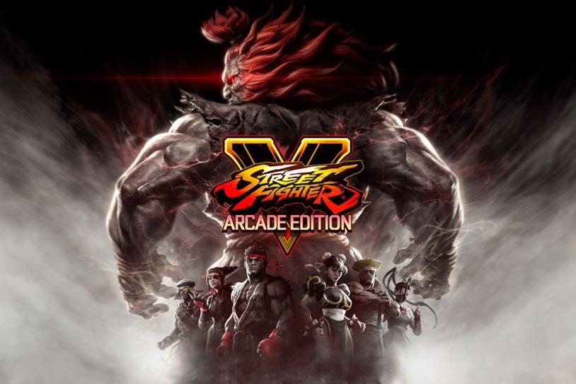 La copertina di Street Fighter V: Arcade Edition