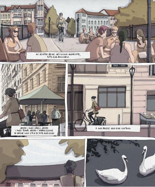 Margot vive la sua vita a Berlino