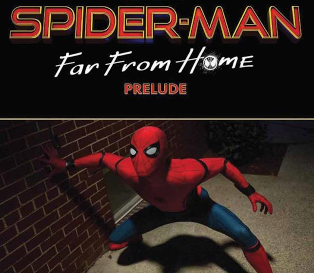 La copertina dell'albo Spider-Man: Far From Home - Prelude edito da Panini Comics