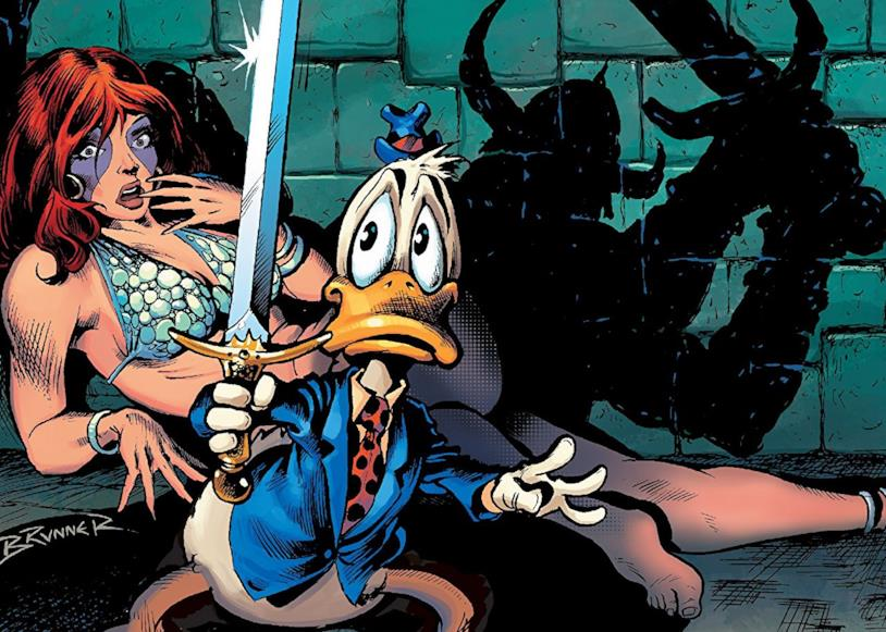 Dettaglio della cover di Howard The Duck: The Complete Collection Vol. 1