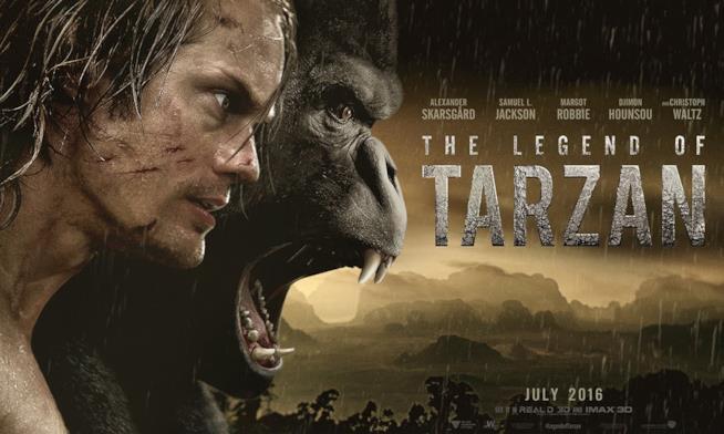 Venti minuti in anteprima di The Legend of Tarzan