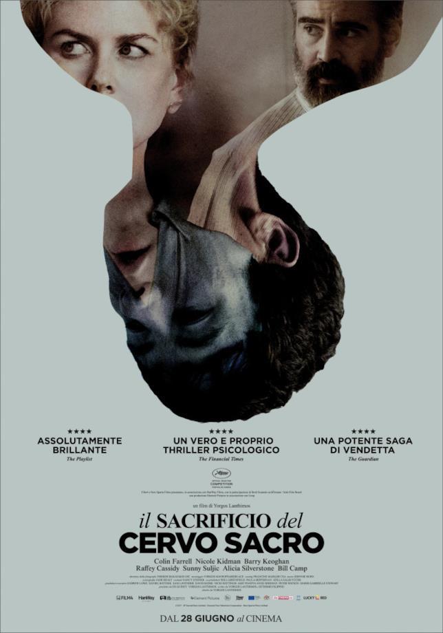 Poster italiano de Il Sacrificio del Cervo Sacro
