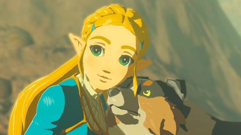 La principessa Zelda in Breath of the Wild