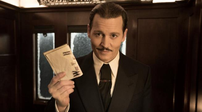 Johnny Depp in Assassinio sull'Orient Express