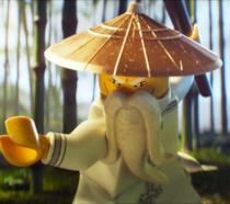 Il saggio maestro di LEGO Ninjago Il Film