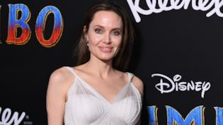 Angelina Jolie alla prima di Dumbo