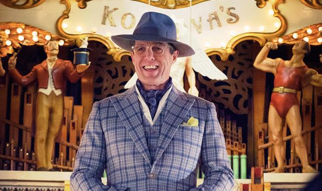 Hugh Grant in una scena di Paddington 2