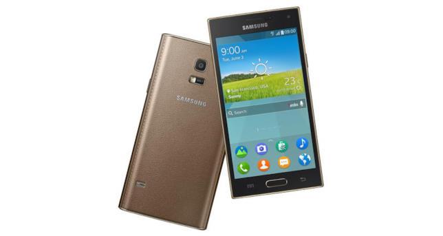 Immagine stampa del Samsung Z con Tizen OS