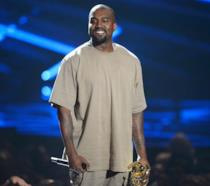 Primo piano di Kanye West