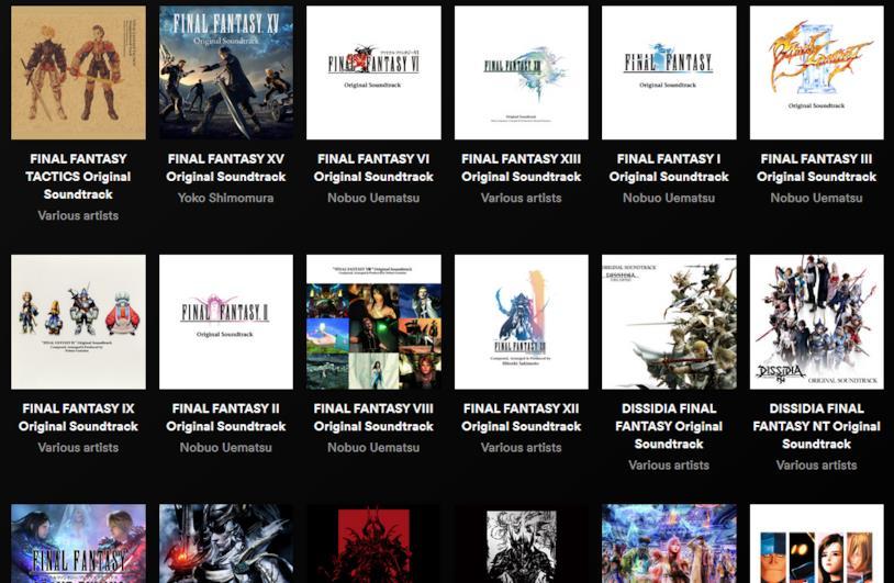 Final Fantasy Soundtrack