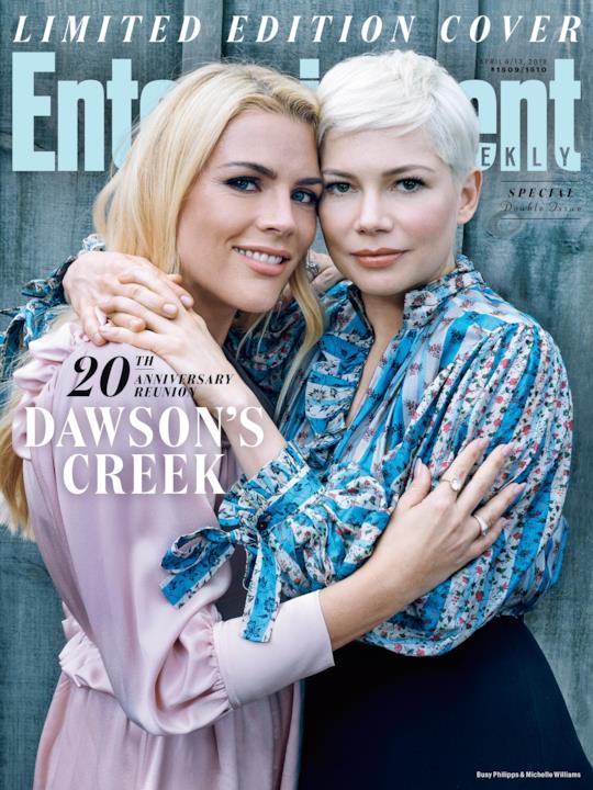 Busy Philipps e Michelle Williams sulla cover di EW