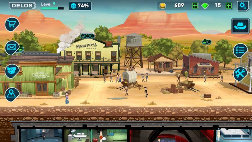 Westworld, videogioco mobile di Behavior Interactive