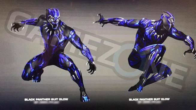 Lo psichedelico costume di Black Panther in Avengers: Infinity War
