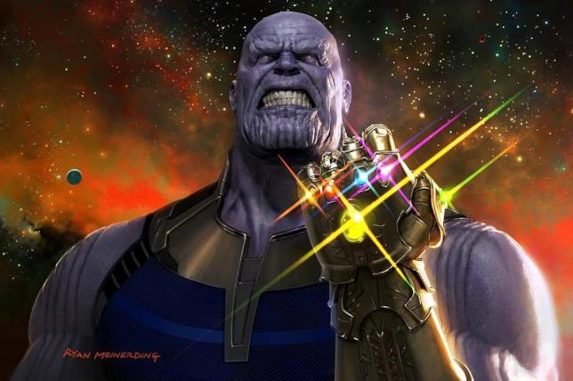Josh Brolin è Thanos, villain di Avengers: Infinity War