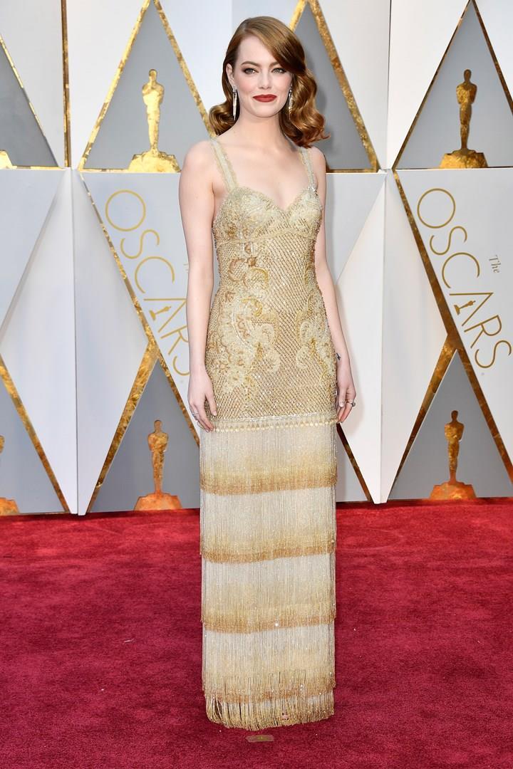 Il look Givenchy di Emma Stone agli Oscar 2017