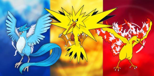 Pokémon GO accoglie Zapdos e Moltres