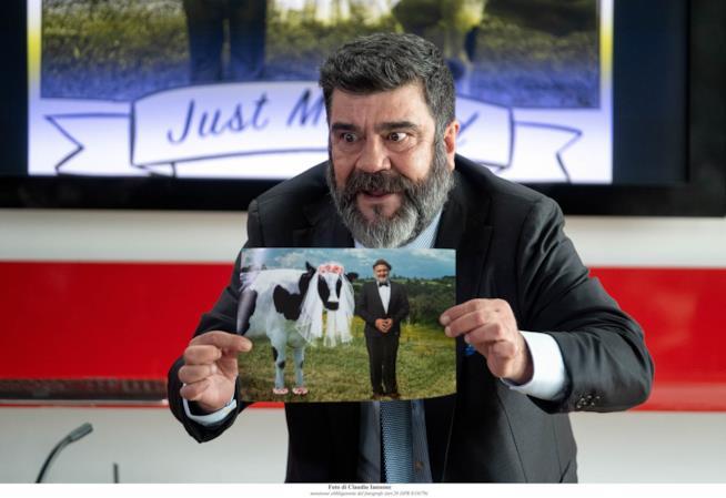L'attore e doppiatore Francesco Pannofino nel cast di Romolo + Giuly