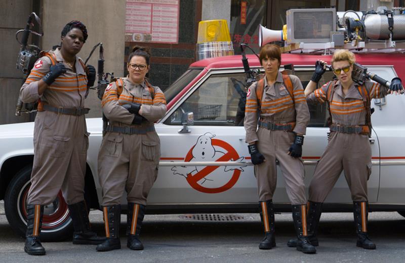 Le protagoniste di Ghostbusters, il reboot al femminile del 2016