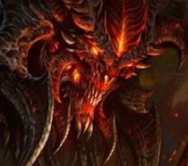 Un feroce demone campeggia in un artwork di Diablo III