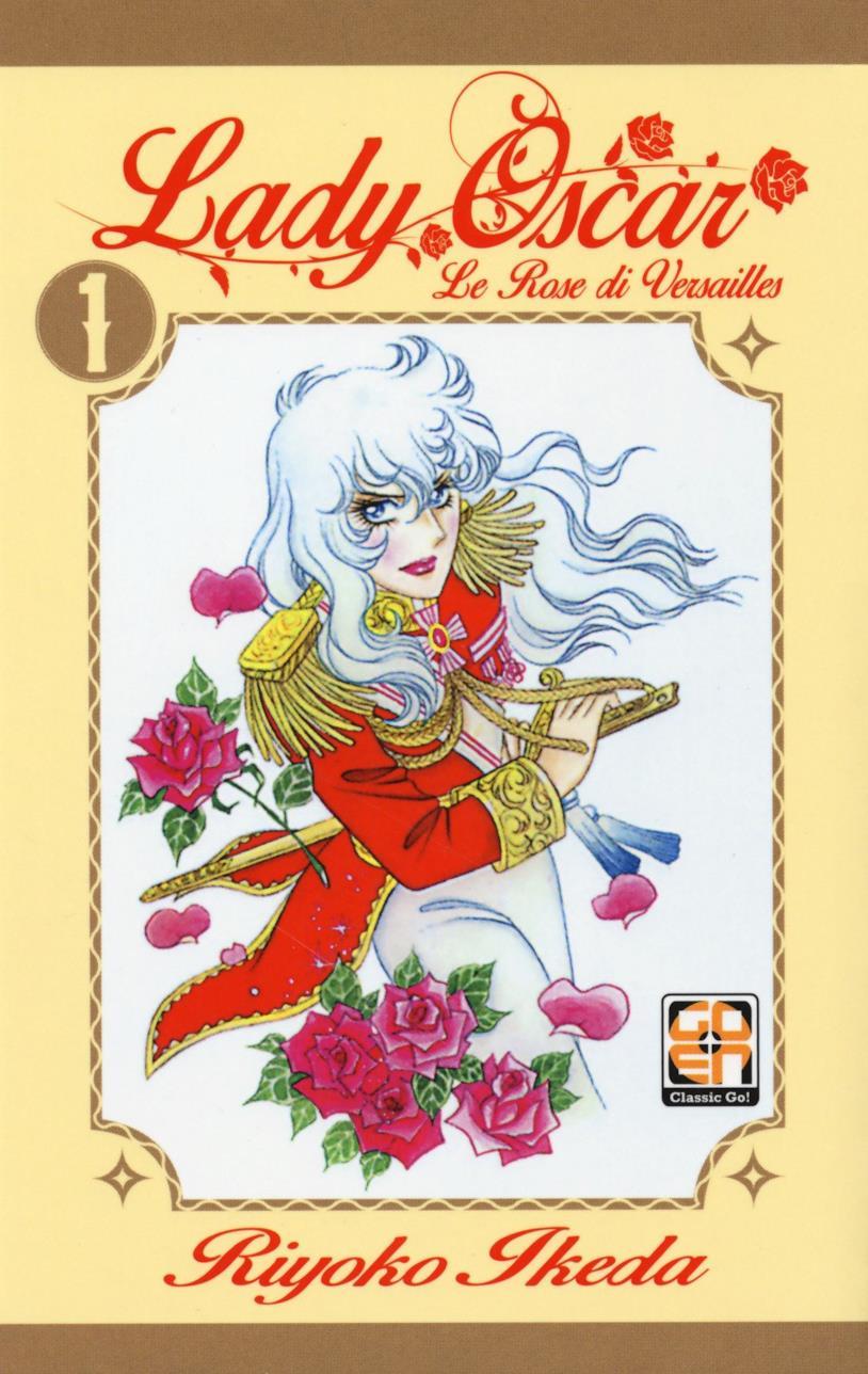 La copertina di Lady Oscar