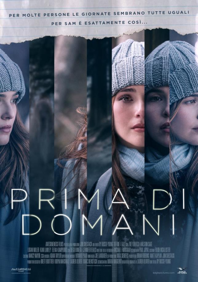 La locandina italiana del film Prima di domani di  Ry Russo-Young
