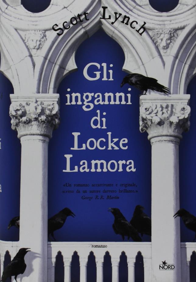La copertina di Gli inganni di Locke Lamora