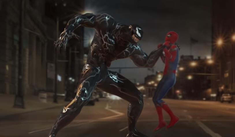 Lo scontro tra Venom e Spider-Man realizzato da VS GAG