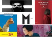Cinque copertine dei finalisti del Premio Strega