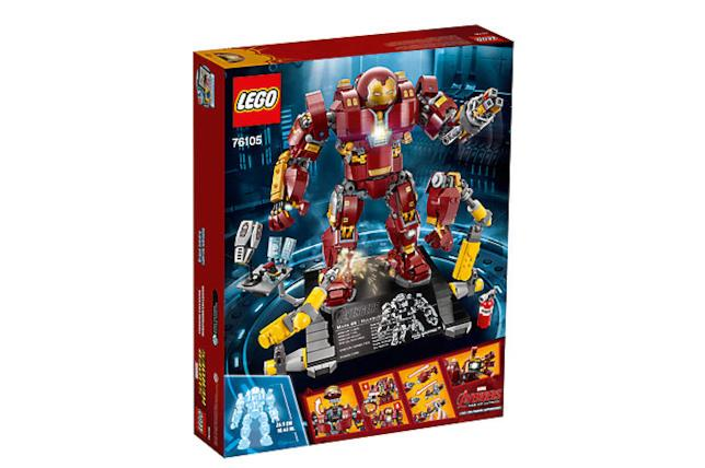 Dettagli del box Hulkbuster: Ultron Edition di LEGO