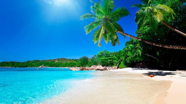 Uno splendido scenario della Costa Rica