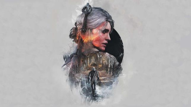 Artwork di Cirilla, coprotagonista nelle avventure del Witcher Geralt