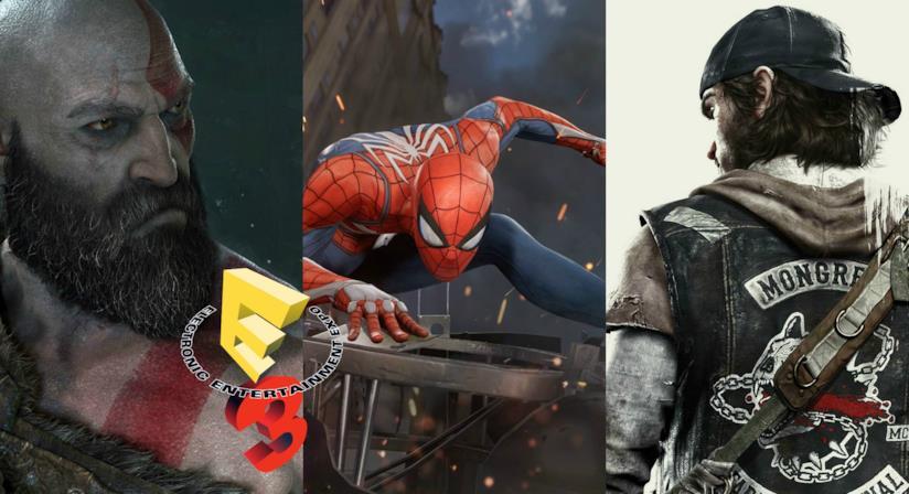 Alcuni degli eroi dei videogame in uscita su PS4