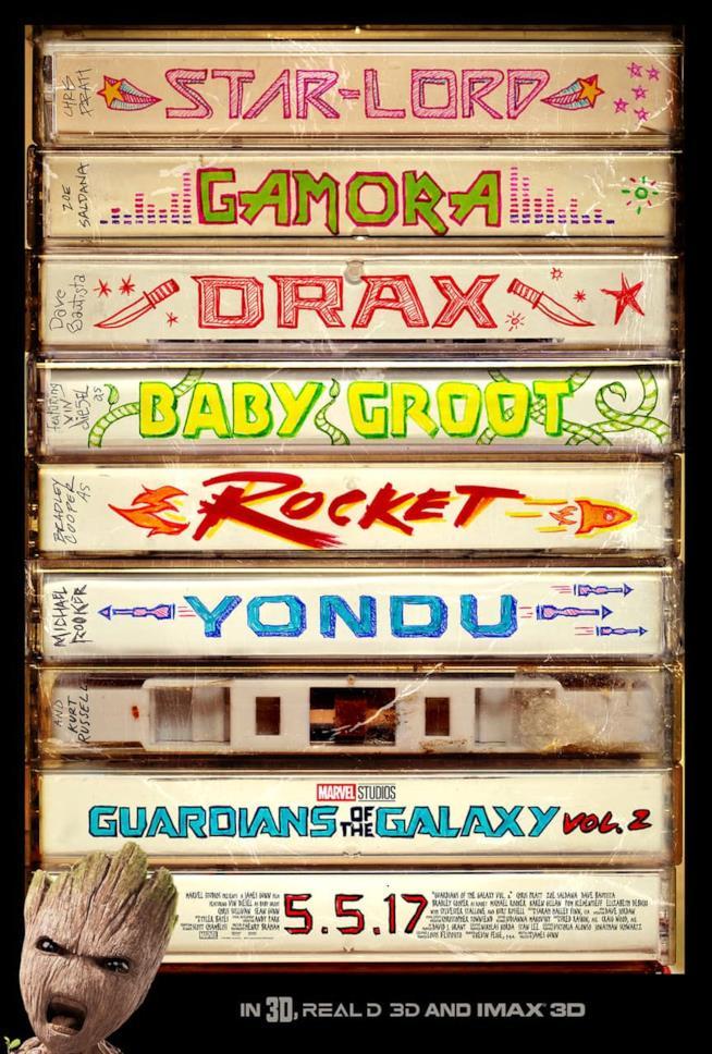 Il poster con i protagonisti di Guardiani della Galassia svelato post Super Bowl
