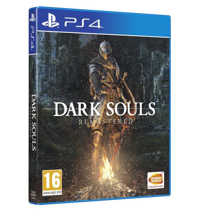 Packshot di Dark Souls Remastered per PS4