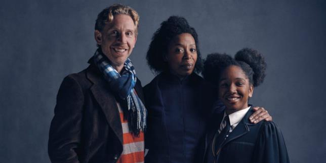 Noma Dumezweni e la famiglia Weasley-Granger di Harry Potter and the Cursed Child,