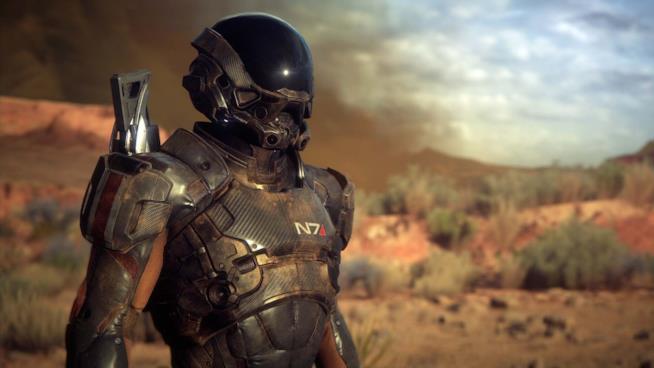 Primo piano per il comandante protagonista di Mass Effect: Andromeda