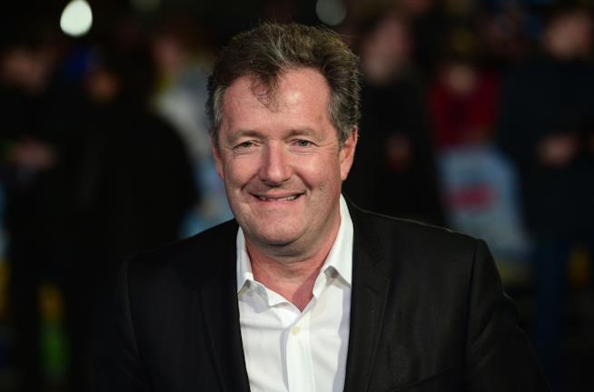Primo piano di Piers Morgan