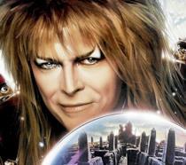 David Bowie nel ruolo di Jareth, il Re dei Goblin