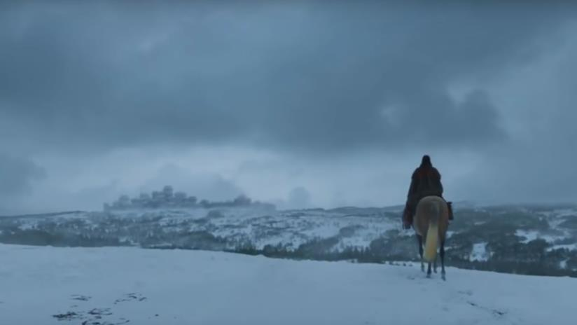 Arya ritorna a Winterfell in Game of Thrones