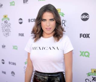 La bella e sensuale attrice messicana Karla Souza