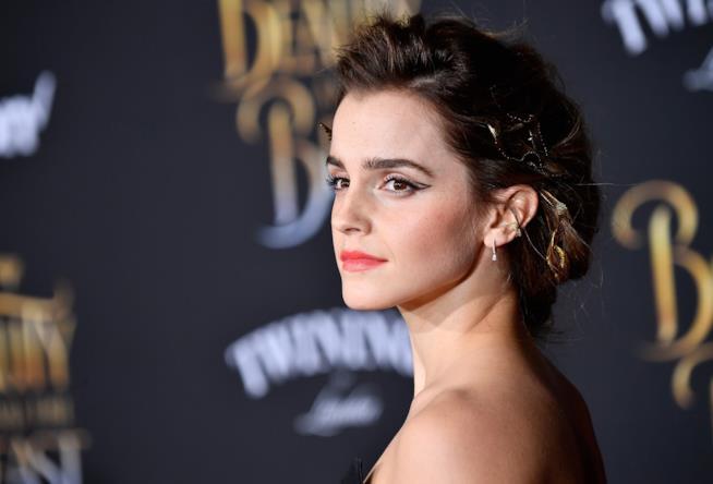 Un intenso primo piano di Emma Watson
