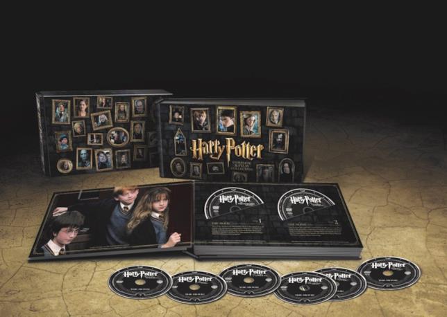 I contenuti del Boxet di Harry Potter esclusivo per Feltrinelli (2016)