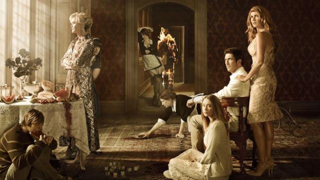 American Horror Story: un poster promozionale di Murder House