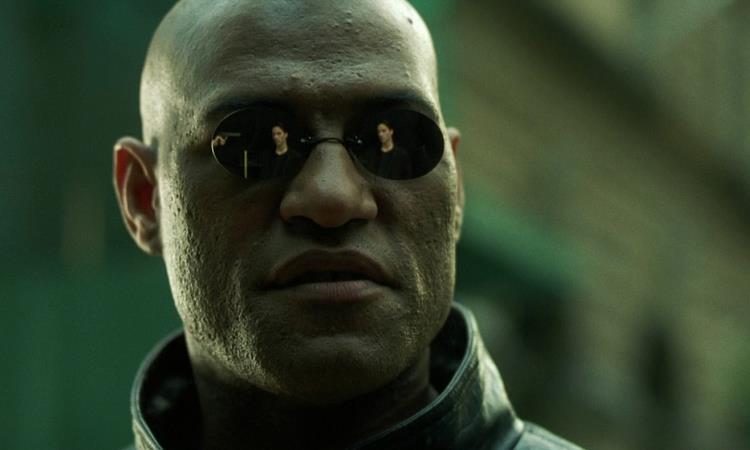 Una scena tratta da Matrix