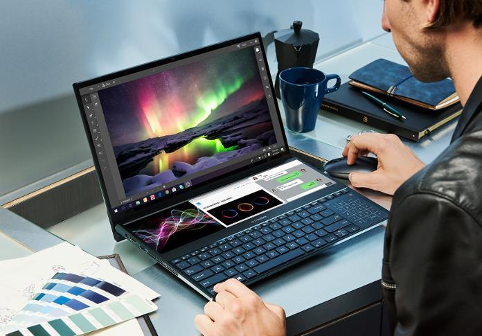 Immagine promozionale di ASUS ZenBook Pro Duo